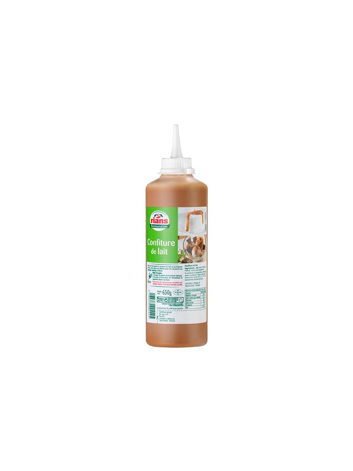 La Confiture de Lait Sauce Caramel 500ml Rians Restauration